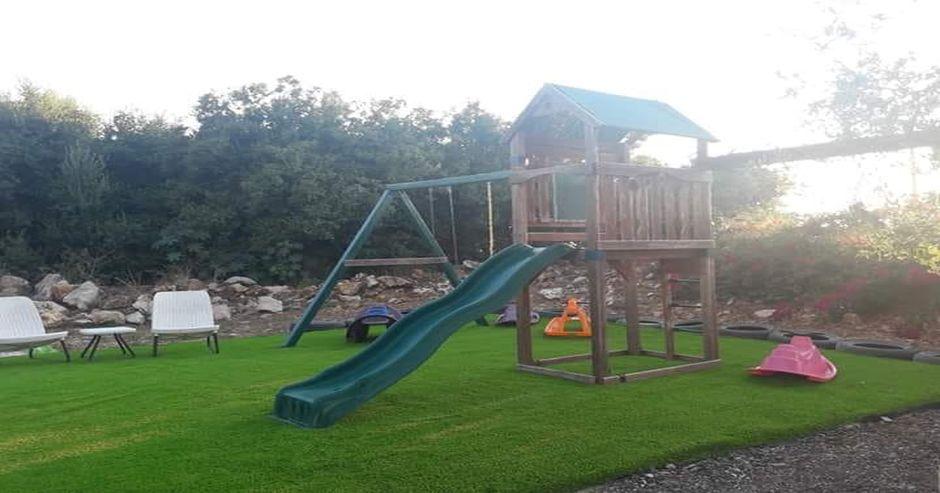 גן משחקים לילדים בוילה אחוזת כרמל